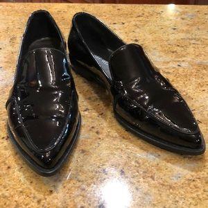 Stuart weitzman leather loafers 37
